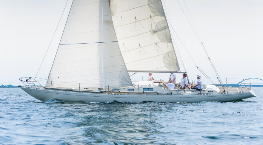 Gamle Swede in light air © Swedesail