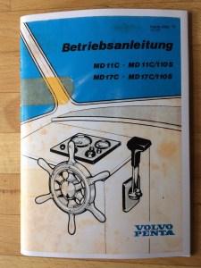 Volvo Penta MD 11 & 17C Handbuch © Swedesail