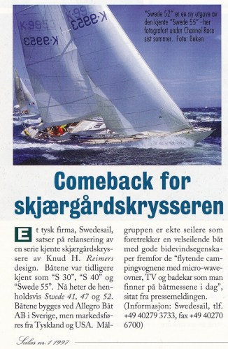 Swede 55 successor introduced in Norway