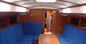 Swede 55 main cabin