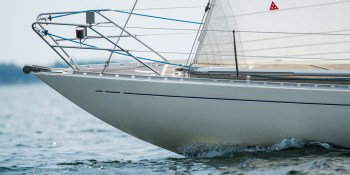 Swede 55 bow fitting © Soeren Hese/Sailpower