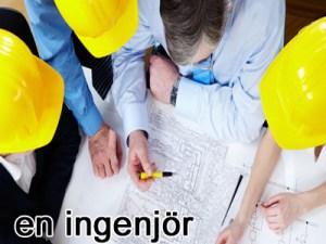en ingenjör