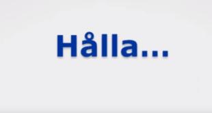 كيف تستخدم الفعل Hålla بعدة معاني مختلفة تماماً وببساطة