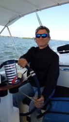 Pleasant sailing toward Vero Beach.