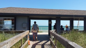 To the beach, Willard leads the way.