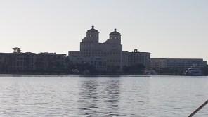 The Parc Regent condominiums, built to resemble The Breakers.