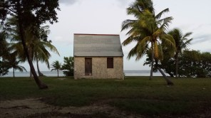 Just a couple of small structures on Boca Chita.