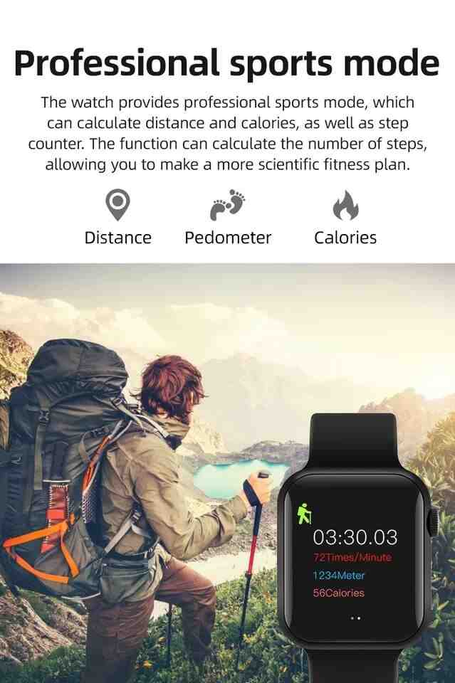 Touch Screen Smartwatch 4