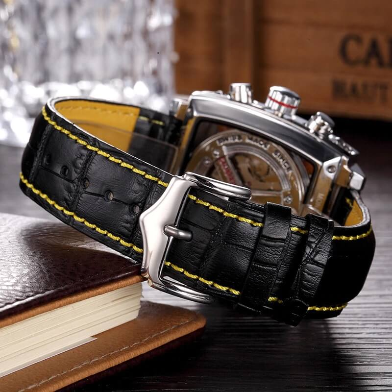 Automatic Watch Leather Strap 7