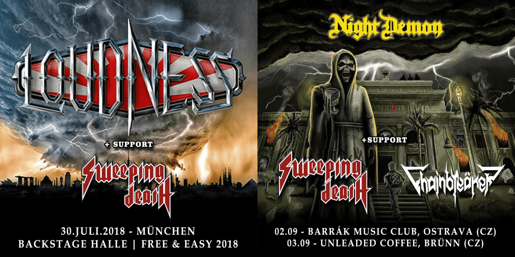 SweepingDeath_Show_Announcemnt_2018_Night Demon_Loudness