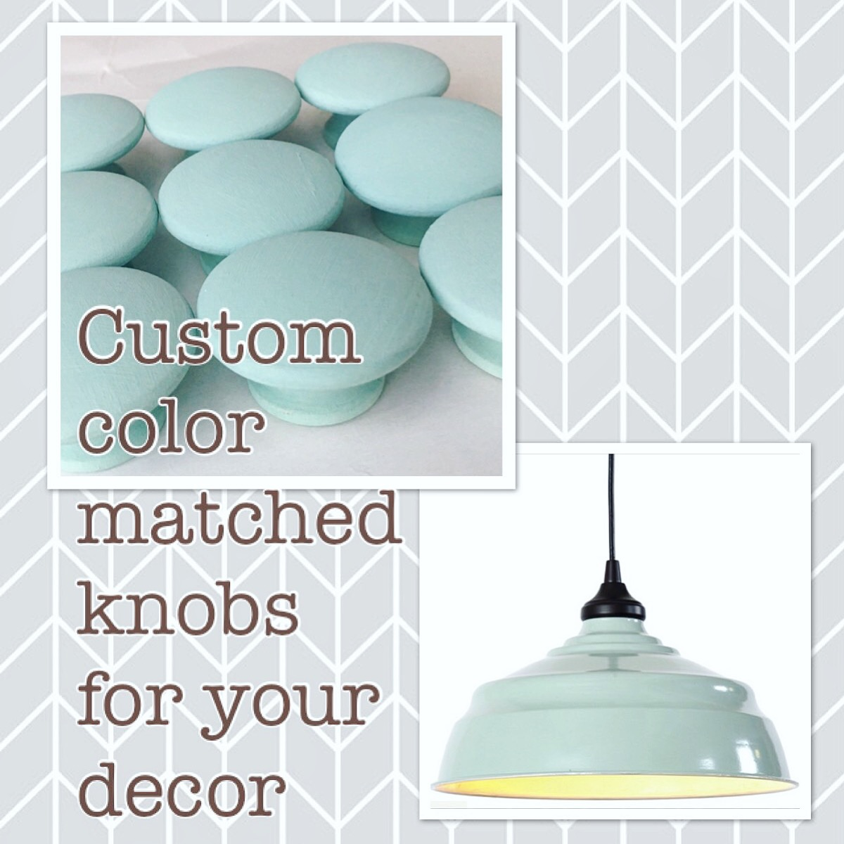 Cabinet Knobs, Color Matched