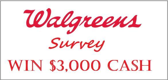 WalgreensListens Customer Survey
