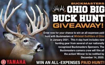 Buckmasters Ohio Big Buck Hunt Giveaway