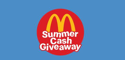Maccas Summer Cash Giveaway