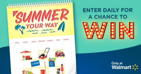 Summer Your Way Sweepstakes 2021