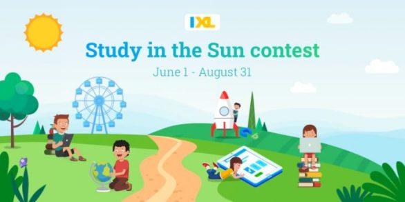 IXL Study in the Sun Contest 2021