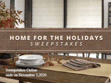 BHG Home for The Holidays Sweepstakes 2020