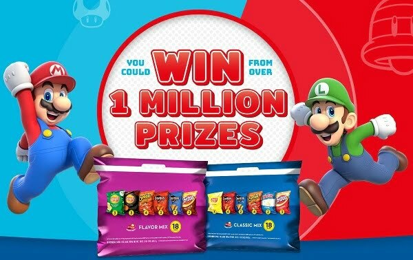 Frito-Lay Variety Packs Instant Win Game on Flvpgamenight.com