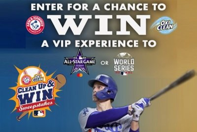 Sweepstakes: MLB Clean Up & Win (2021)