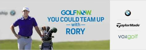 Golfnow Play With Rory Sweepstakes