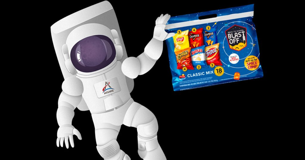 Frito Lay Back to School Blast off Sweepstakes