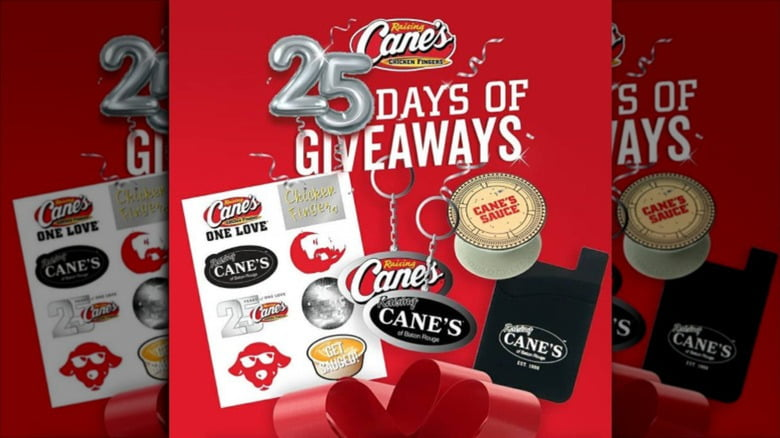 25 Years of Cane's Sweepstakes