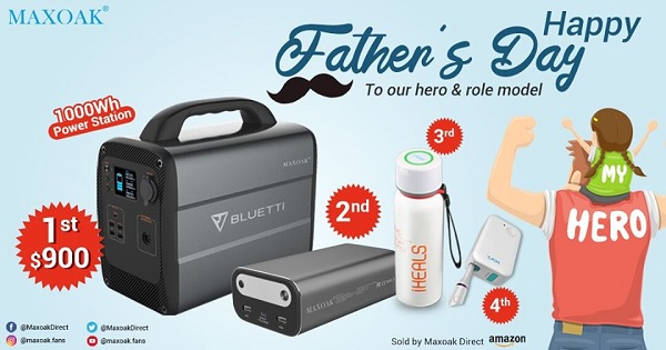 MAXOAK Father's Day Giveaway