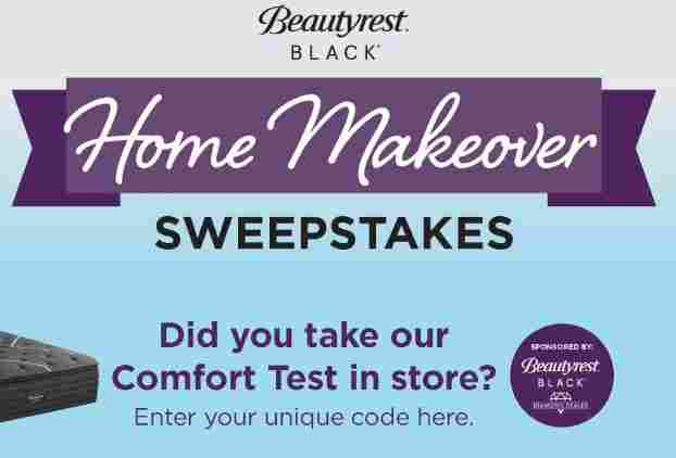 Raymour and Flanigan Beautyrest Black Home Makeover Sweepstakes