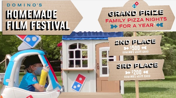 Domino's Homemade Film Fest Contest: Win Free Pizza for a Year!