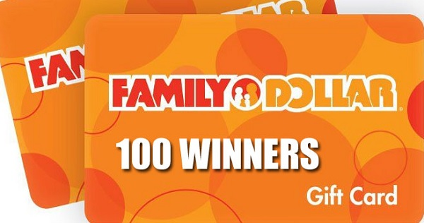 Family Dollar Make an Impression Sweepstakes (100 Winners)