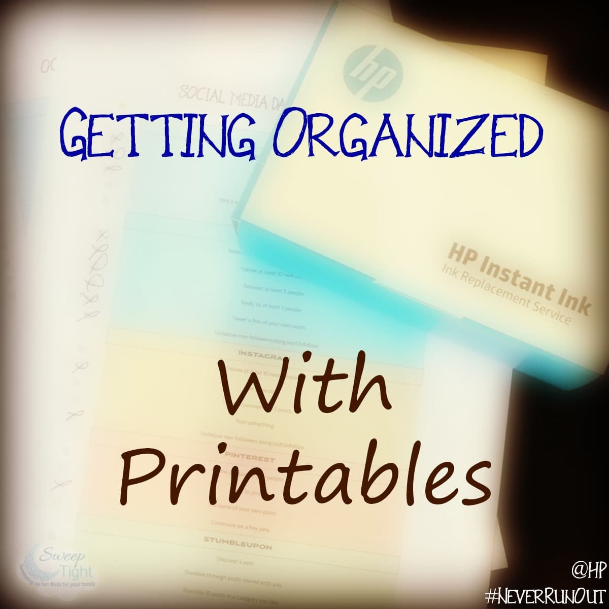 Hp Instant Ink Is Helping Me Get Organized