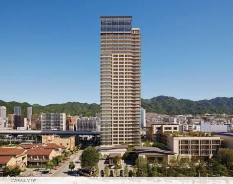 Vu de la sun city kobe tower
