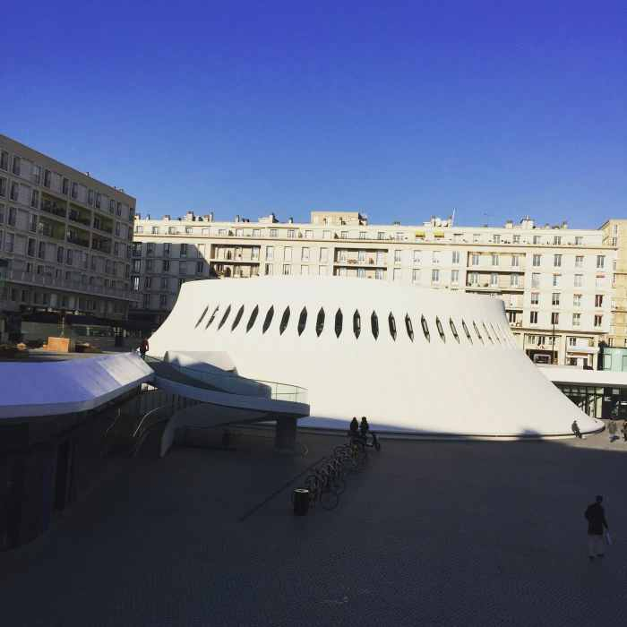 le théâtre du Volcan au Havre, ville où se tient le LH Forum