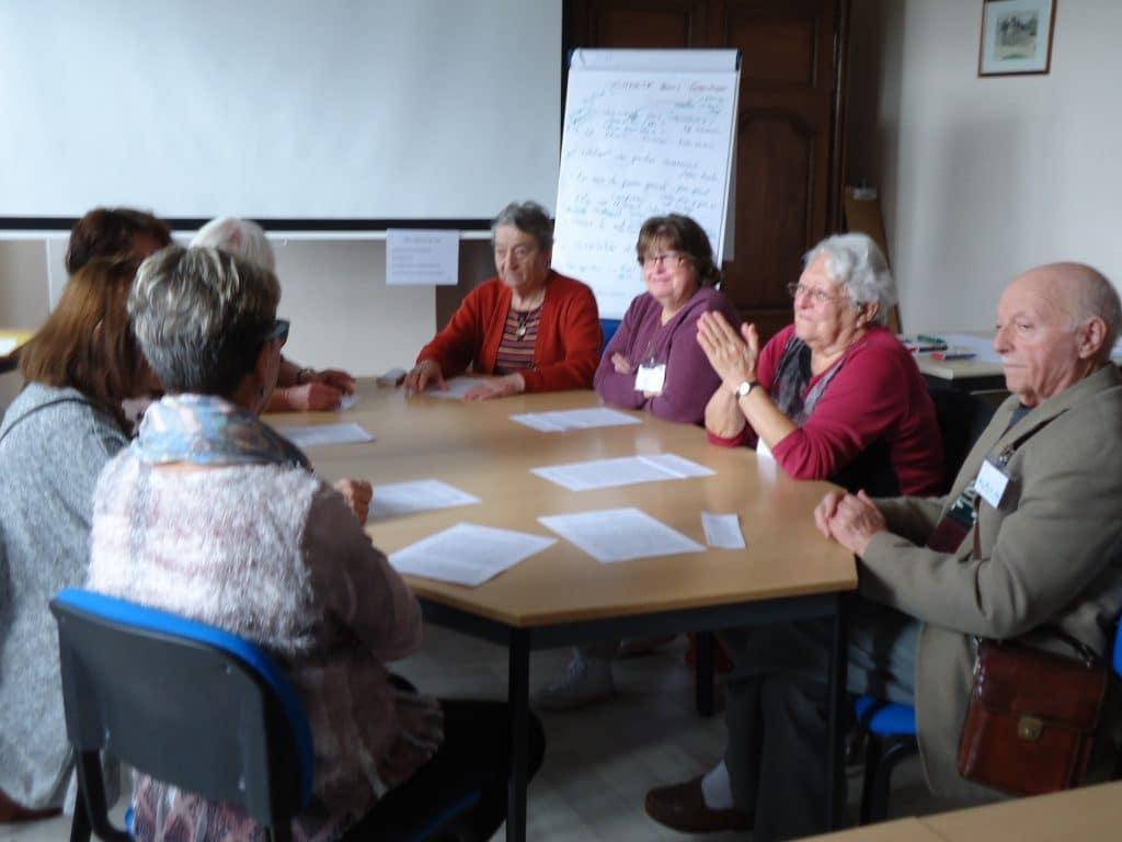 Comment créer un béguinage : les groupes de travail