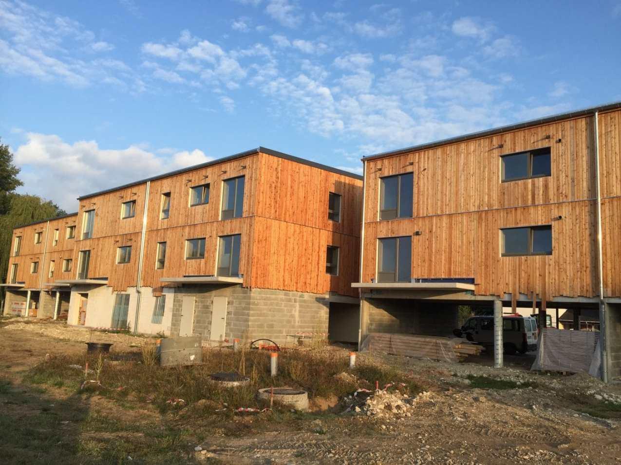 Créer un habitat inclusif le béguinage de Nazelles pendant les travaux
