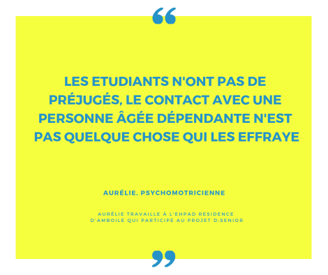 citation psychomotricienne à propos du programme d.senior