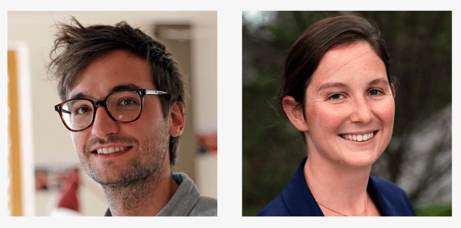 Benjamiin Nussbaumer et Florence Mathieu, enseignants d.school paris sur le programme de design thinking en ehpad d.senior