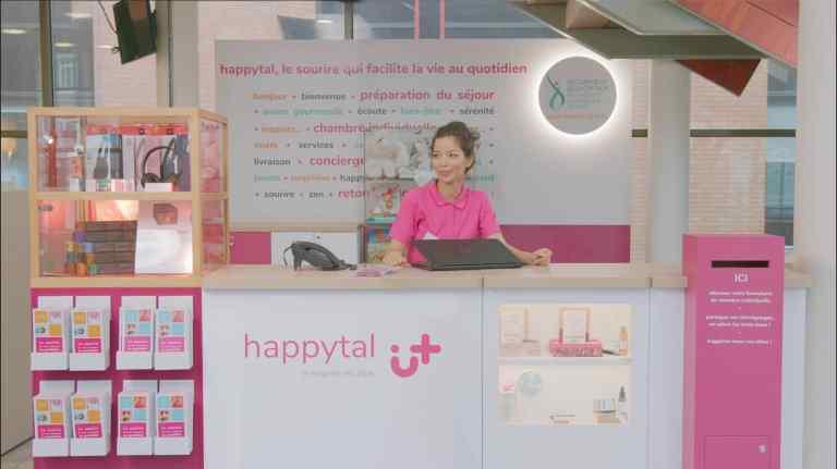 La conciergerie happytal du CH Lille