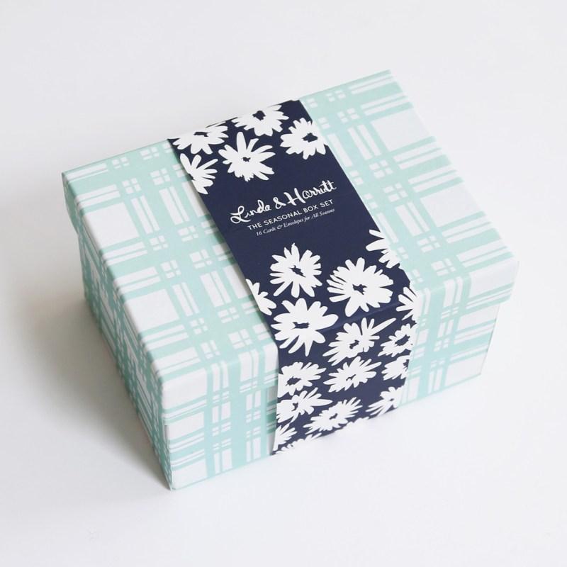 cool note cards & a keepsake box!