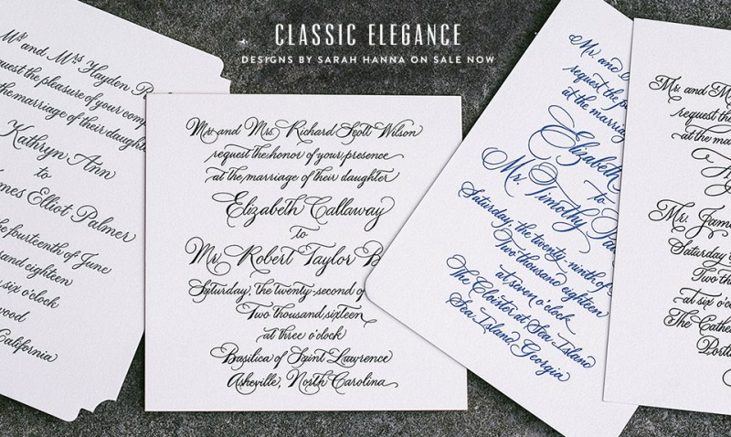 Custom_Calligraphy_Wedding_Invitation