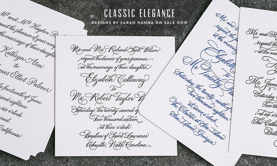 Custom_Calligraphy_Wedding_Invitation