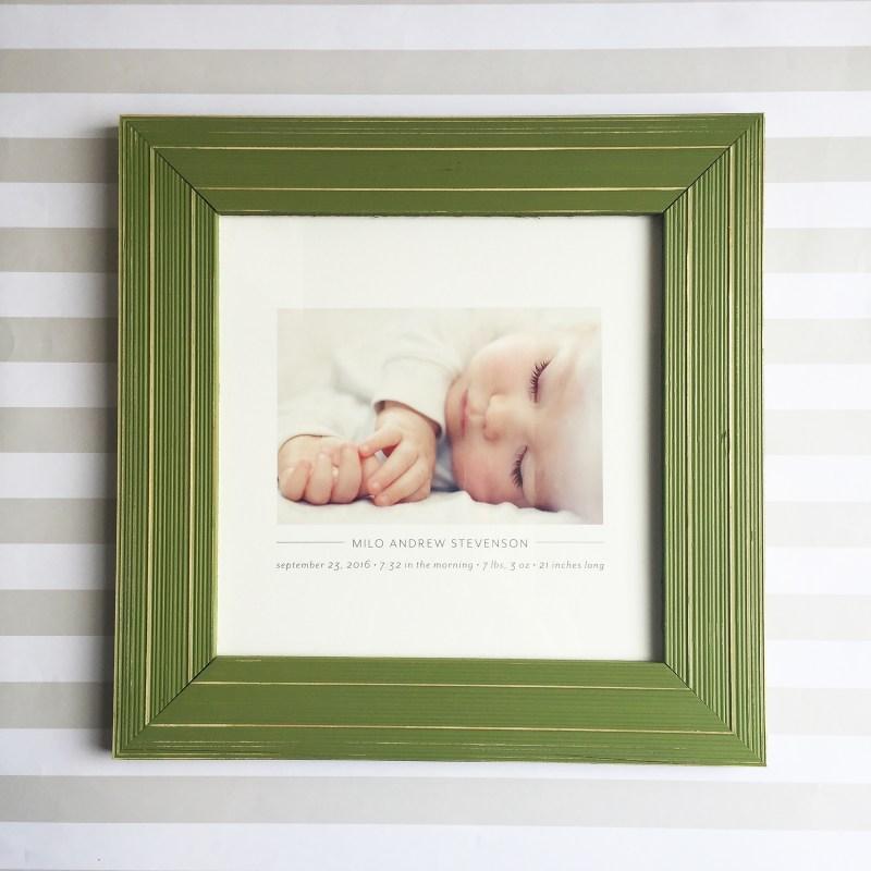 Baby Frame Web