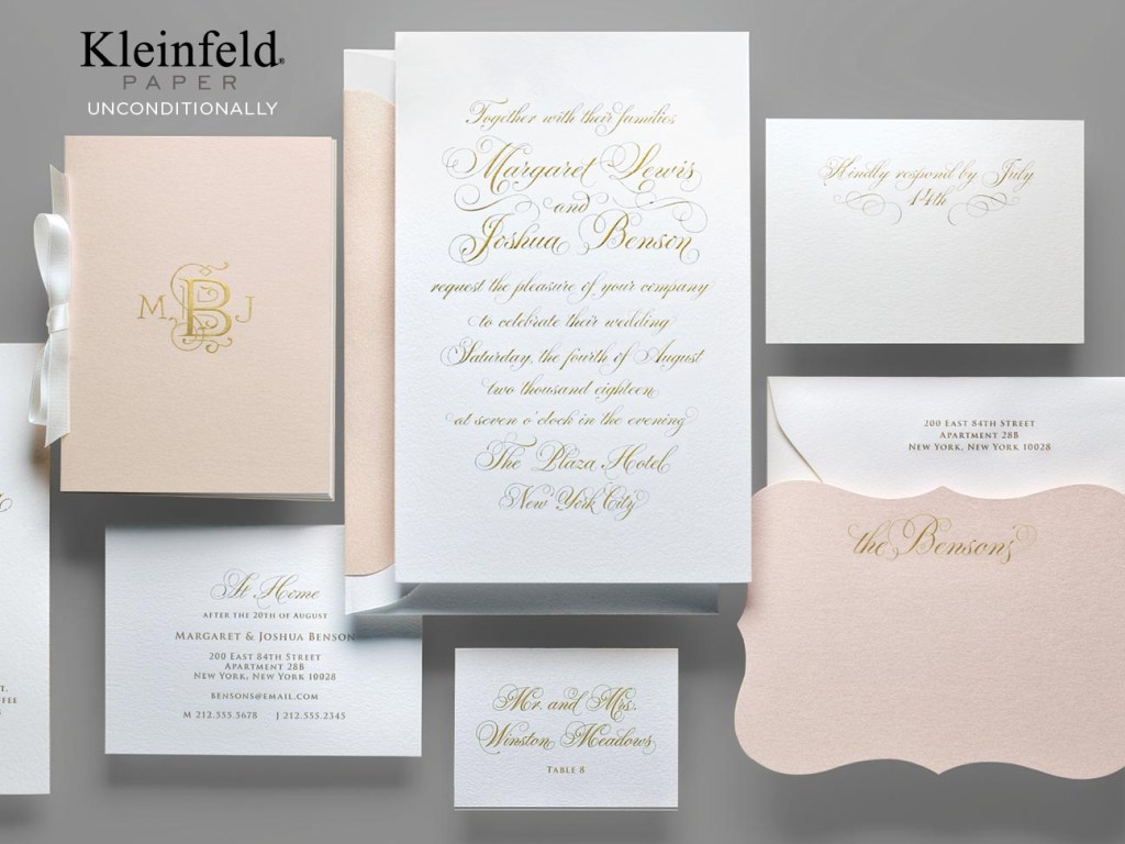 Wedding Invitation Before & After
