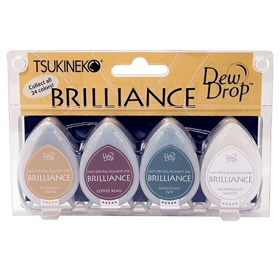 Brilliance Dew Drop Ink Pads: Earth Tone