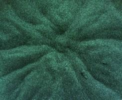 Sweet Poppy Stencil: Satin Glitters Hunter Green