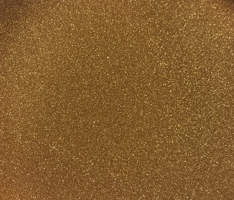 Sweet Poppy Stencil: Satin Glitters Marigold