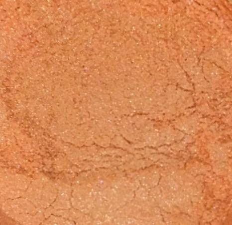Sweet Poppy Stencil: Mica Powder Peach