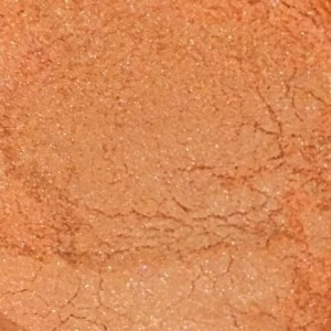 Sweet Poppy Stencil: Mica Powder Peach