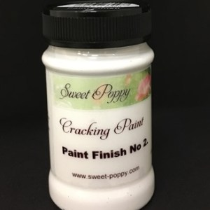 Sweet Poppy Cracking Paint: Paint Finish No2 - 100ml