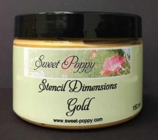 Stencil Dimensions: Gold